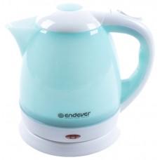 Чайник Endever Skyline KR-347 белый с голубым Новинка!