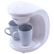 Кофеварка Endever Costa-1040 белый\пластик-фарфор Дешево!